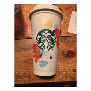 *RARE* Starbucks Summer Reusable cup, NOT OUT YET